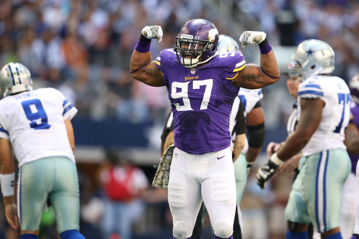 Everson Griffen To Re Sign With Minnesota Vikings Daily Norseman
