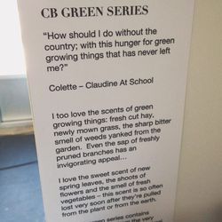 After lunch we walked over to <strong>CB I Hate Perfume</strong>. I discovered a love for their green scents, but I couldn't decide between salad greens or fresh basil.