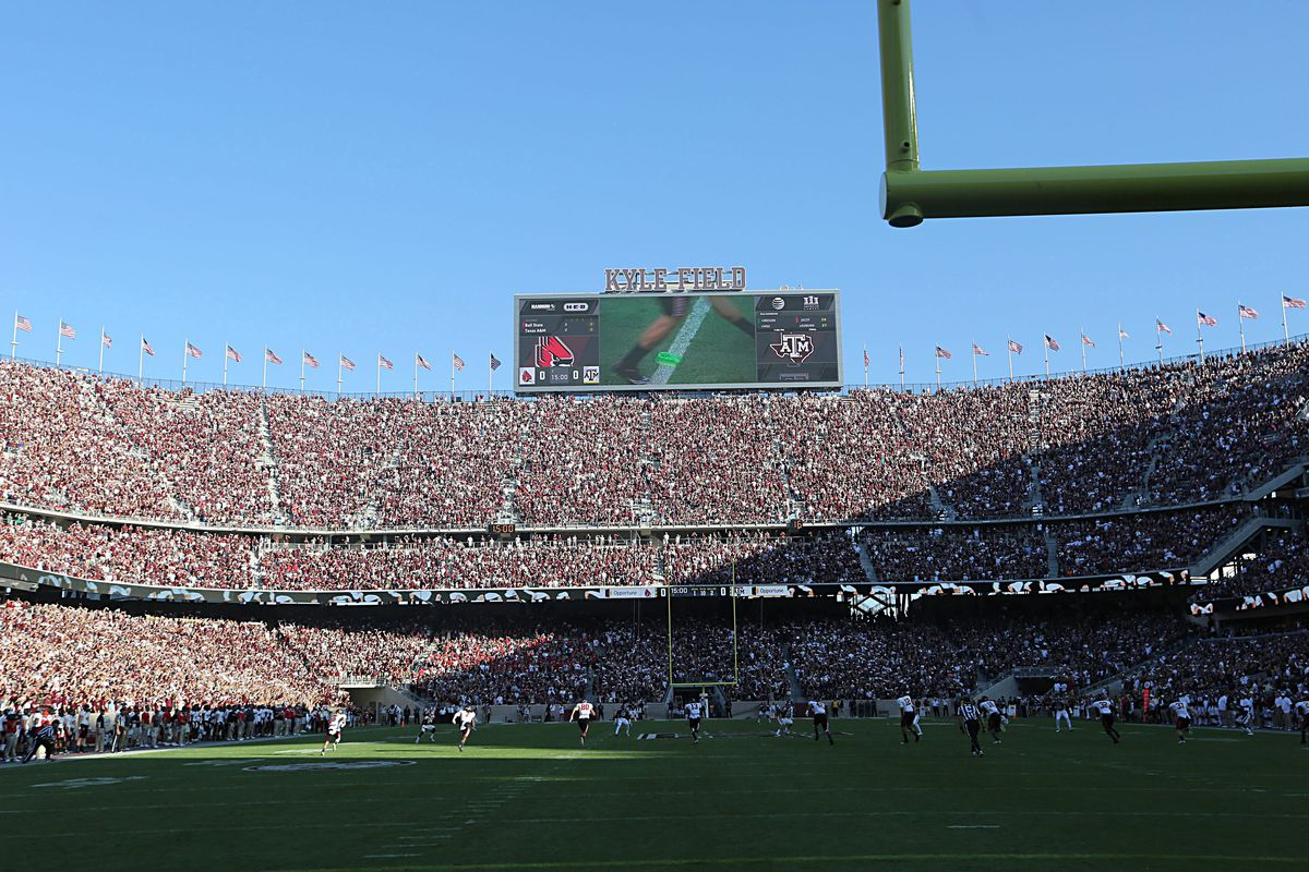 Recruiting advantages: Kyle Field edition.