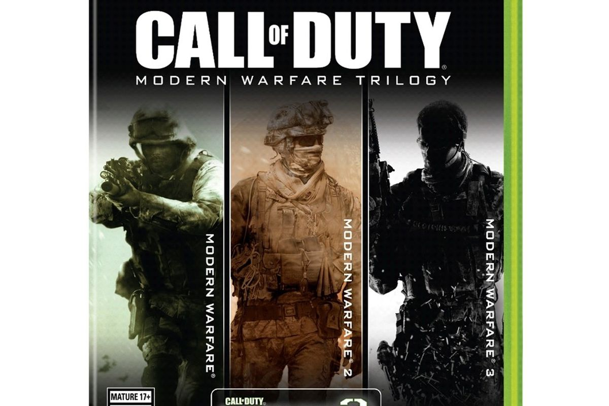 call of duty modern warfare collection xbox 360