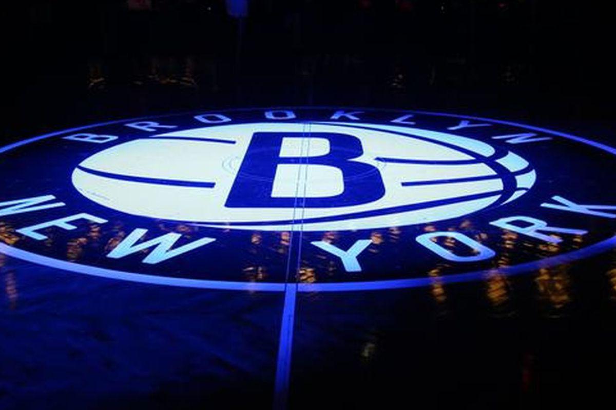 barclays Center nets logo