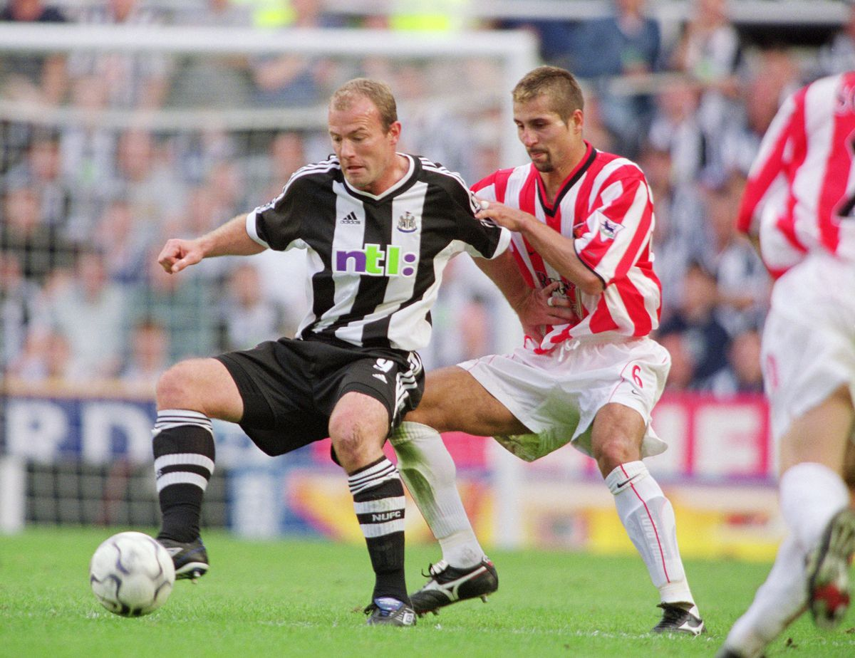 Alan Shearer and Emerson Thome