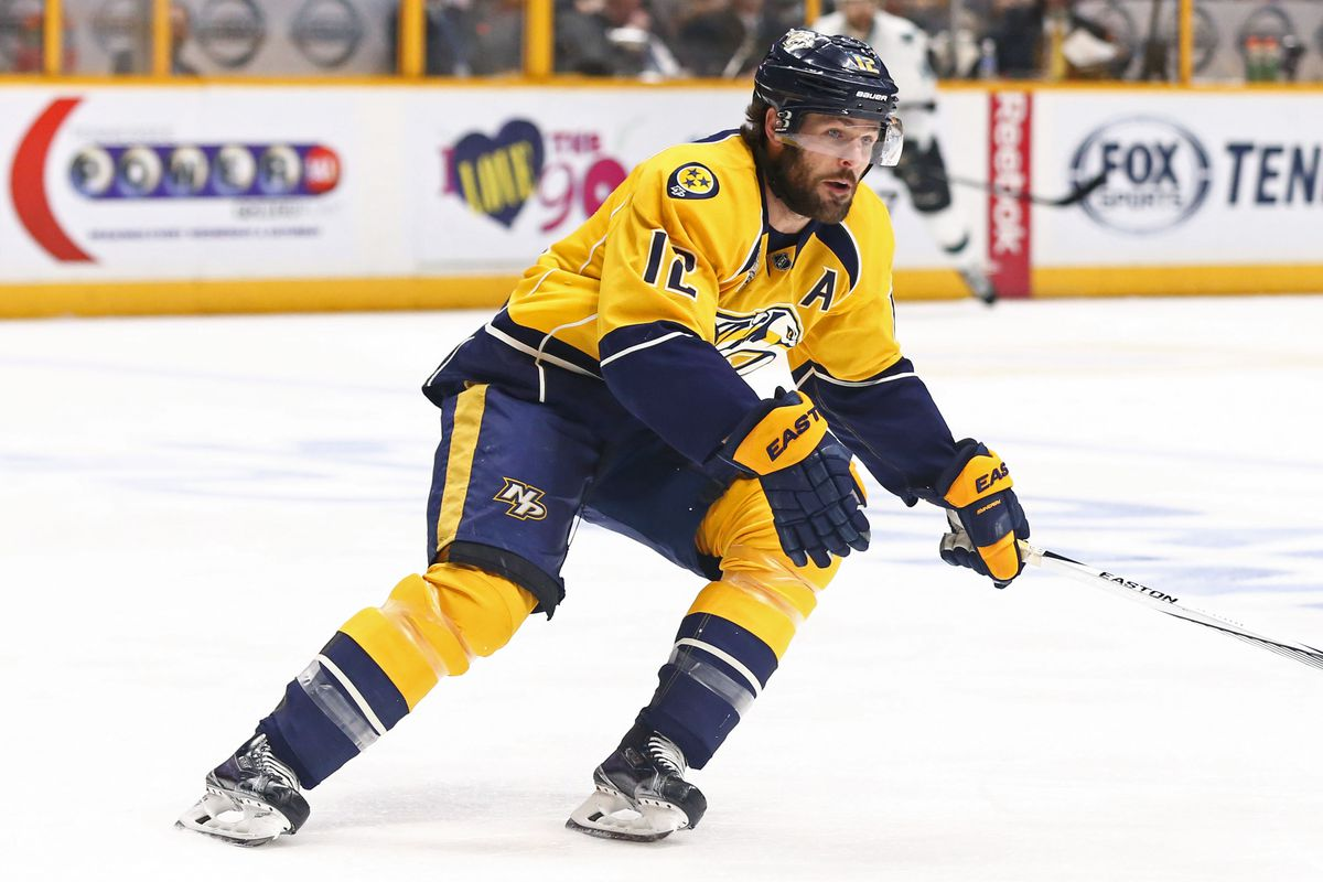 another chance 93856 7d4c8 Per Report, Mike Fisher To Be Named Nashville Predators ...