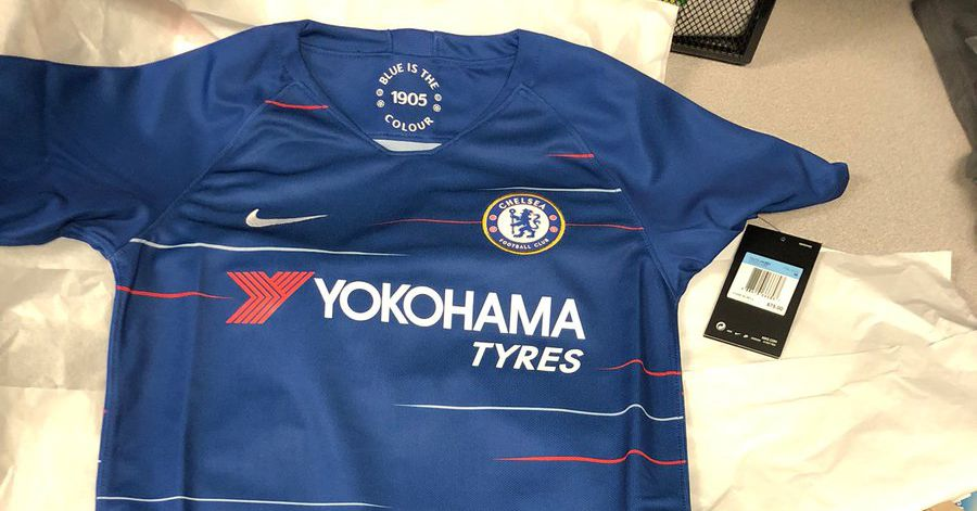 First picture of the new Nike 2018-19 Chelsea home kit - We Ain t Got No  History 1f2810a28
