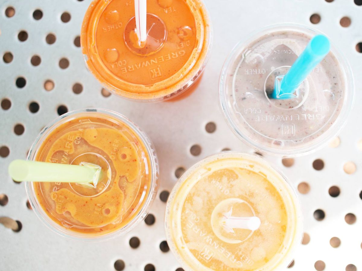 Soup Peddler's smoothies and juices