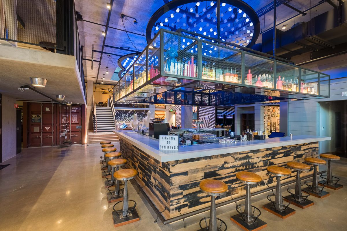 Hotels In San Diego >> Downtown S Got A Groovy New Hotel Bar Eater San Diego