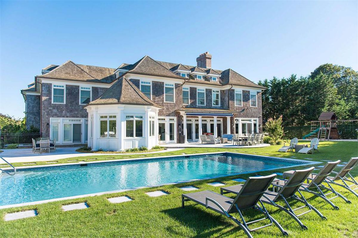 3 hamptons homes for sale with basketball courts curbed for Hamptons house for sale