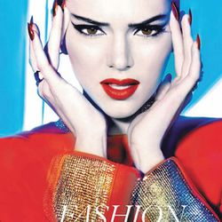 Kendall on the cover of Blank.