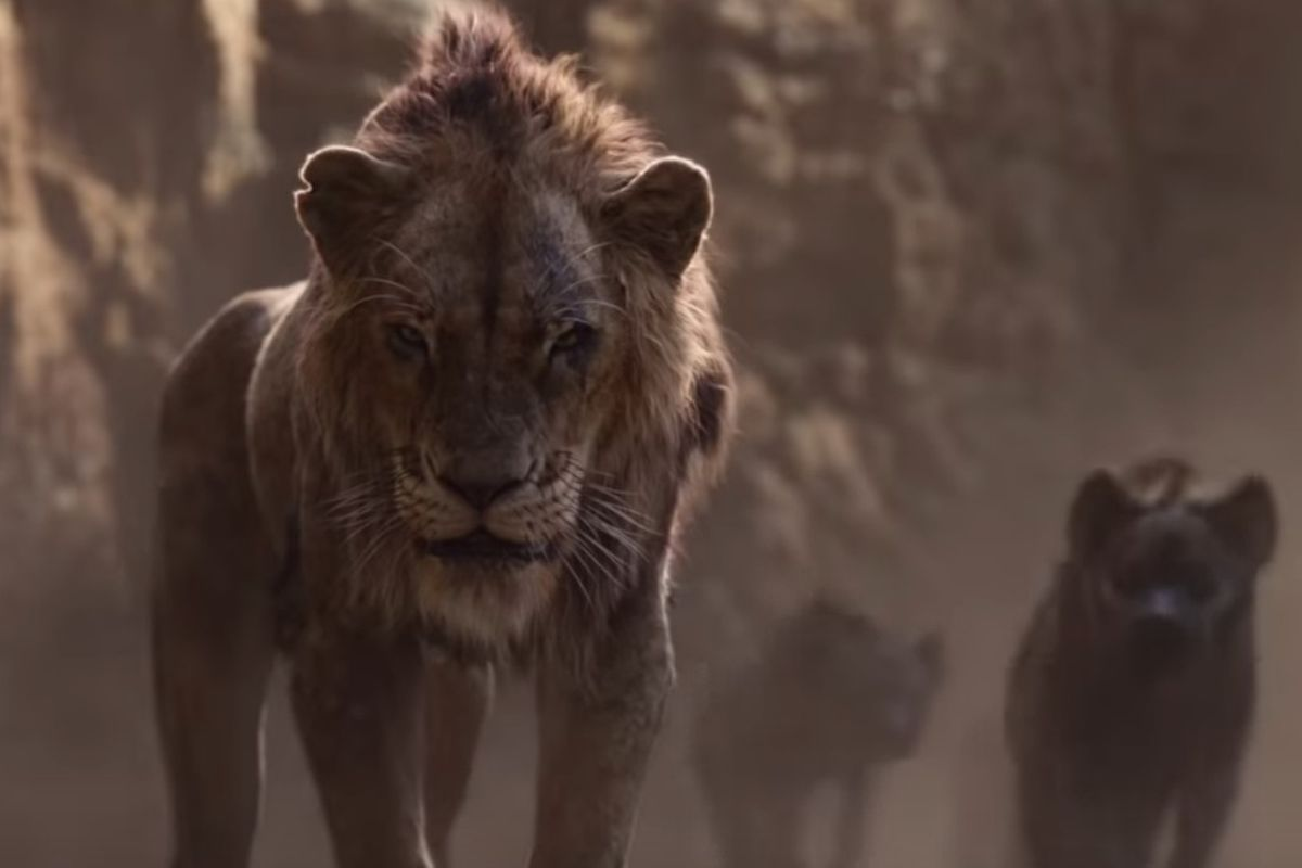 """The first full-length trailer for Disney's """"The Lion King"""" dropped Wednesday morning, and social media users have a lot to say about it, particularly about the look of the film's snarling feline villain."""