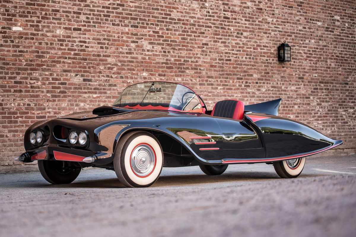 The first official Batmobile ever built is headed to auction - The Verge