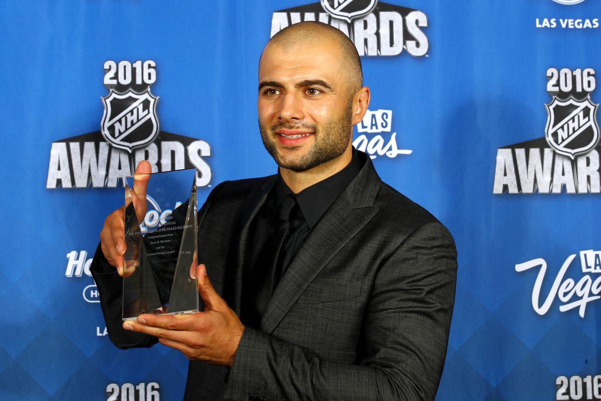 2016 NHL Awards - Press Room