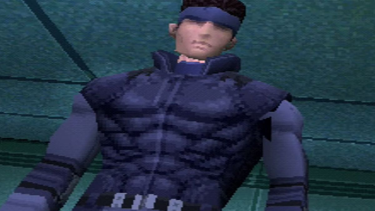 Solid Snake in Metal Gear Solid