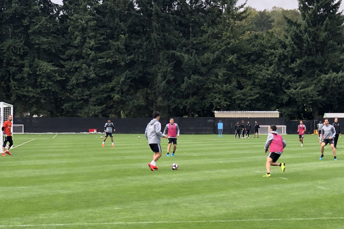 Sounders Practice Notes: Managing short rest