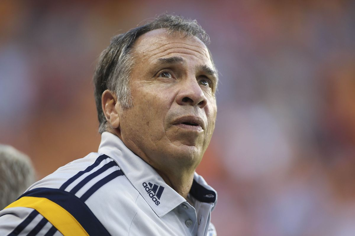 Bruce Arena didn't have a lot to be happy about in Houston.