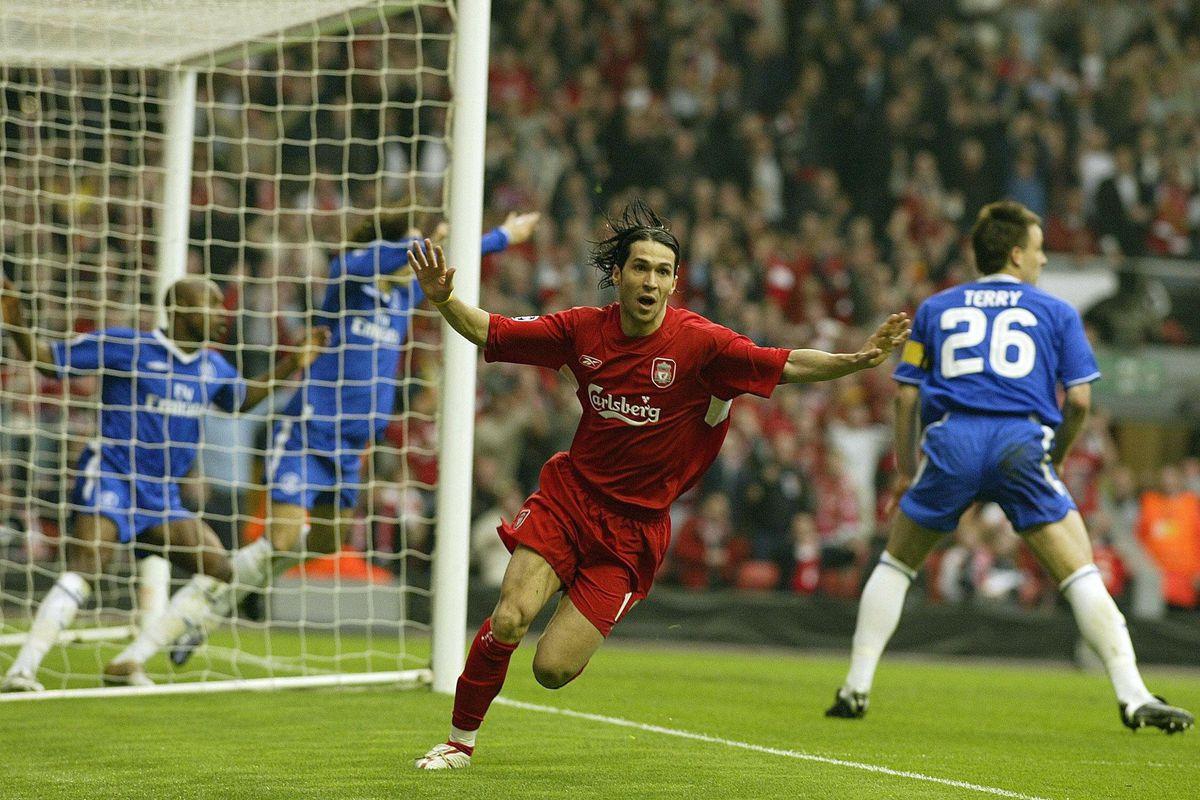 Soccer - UEFA Champions League - Semi-Final - Second Leg - Liverpool v Chelsea - Anfield