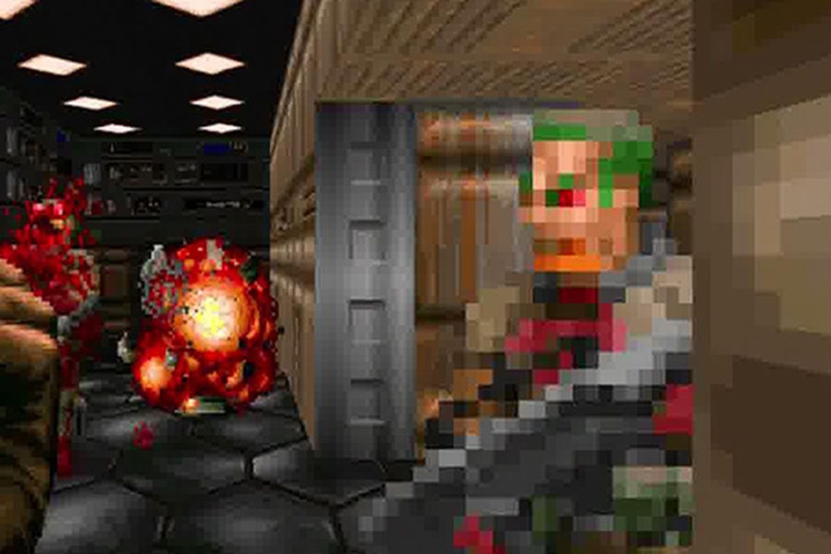 Old-school Doom does battle royale with a new mod - Polygon