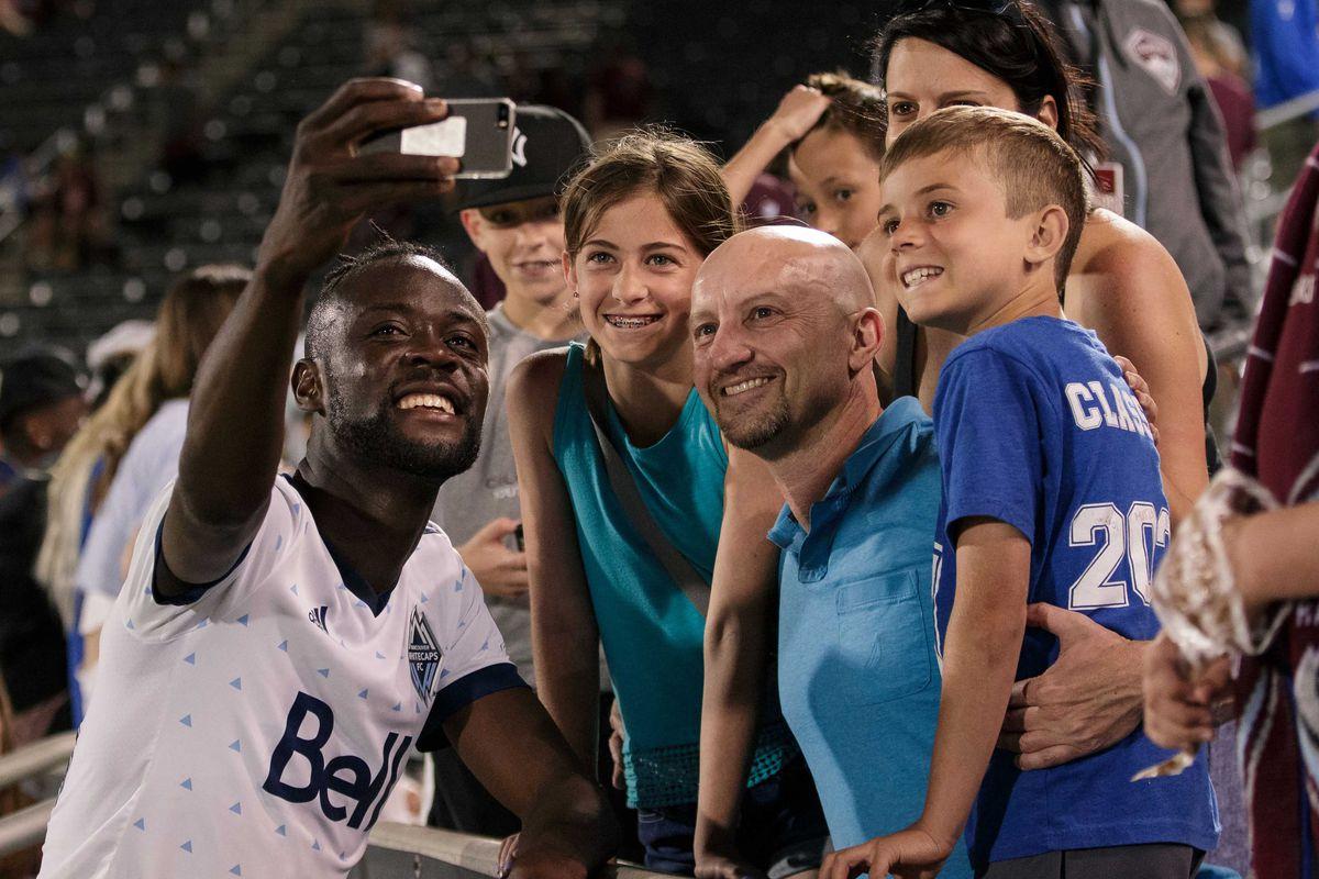MLS: Vancouver Whitecaps at Colorado Rapids