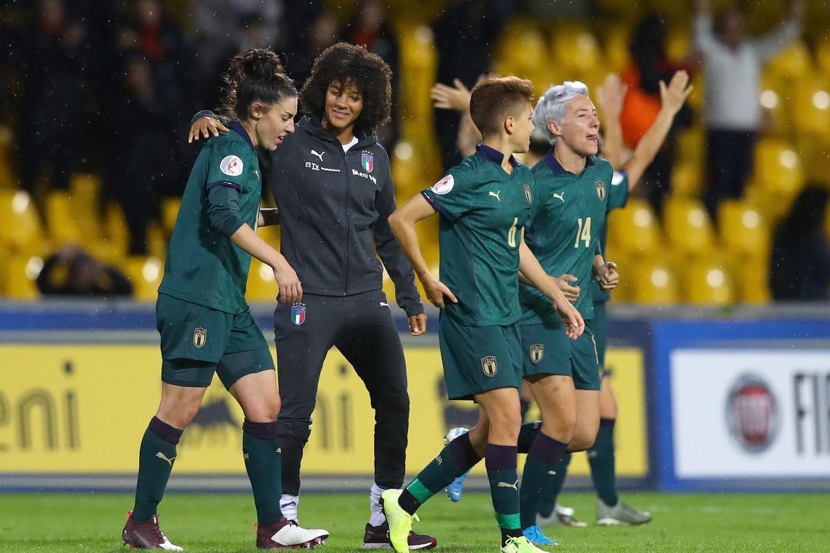 Italy v Georgia - UEFA Euro 2021 Womens Championship Qualifiers