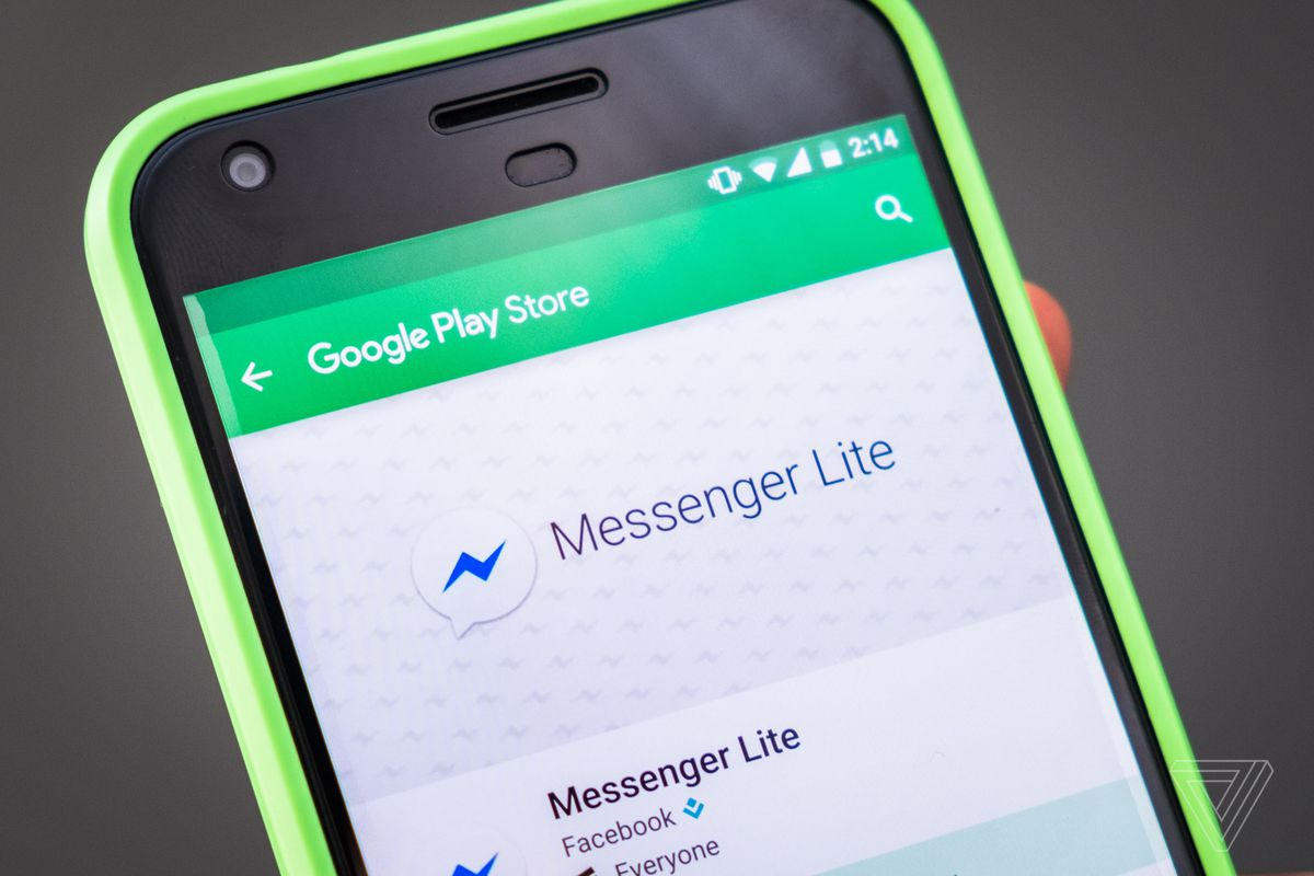 Quota-friendly app from Facebook: Messenger Lite