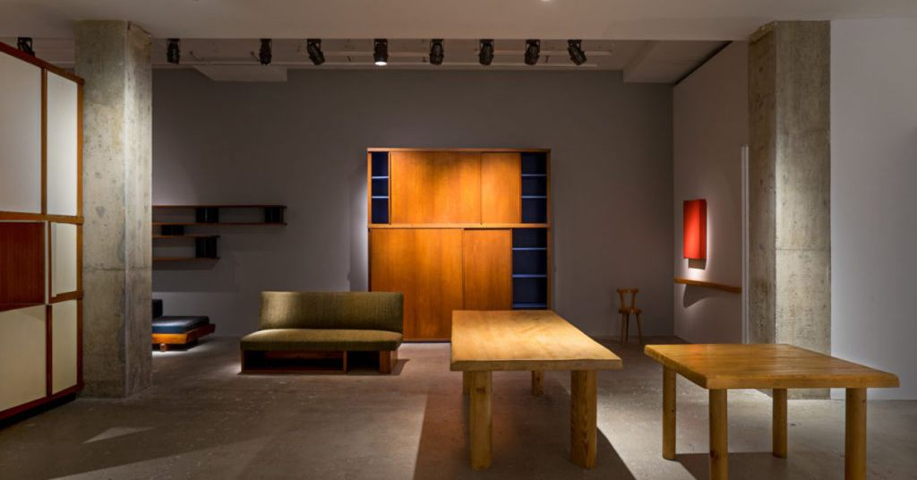 Charlotte Perriand Furniture Exhibition Opens In New York