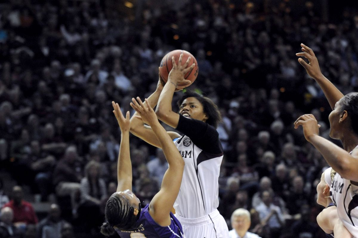 Courtney Williams took over in the second half vs Ole Miss