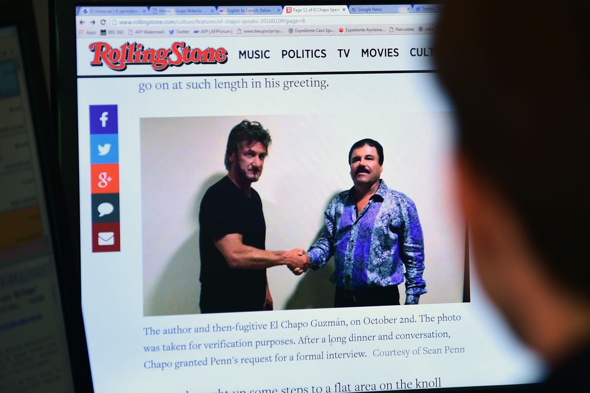 Sean Penn Interviewed El Chapo Which One Of Them Got Played Vox