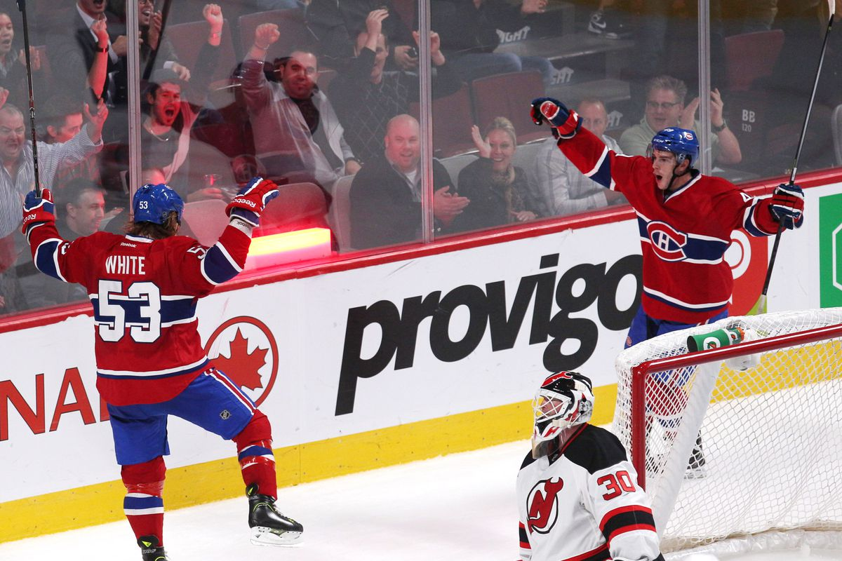 56e3610add1 Montreal Canadiens vs New Jersey Devils - Game Recap - Eyes On The Prize