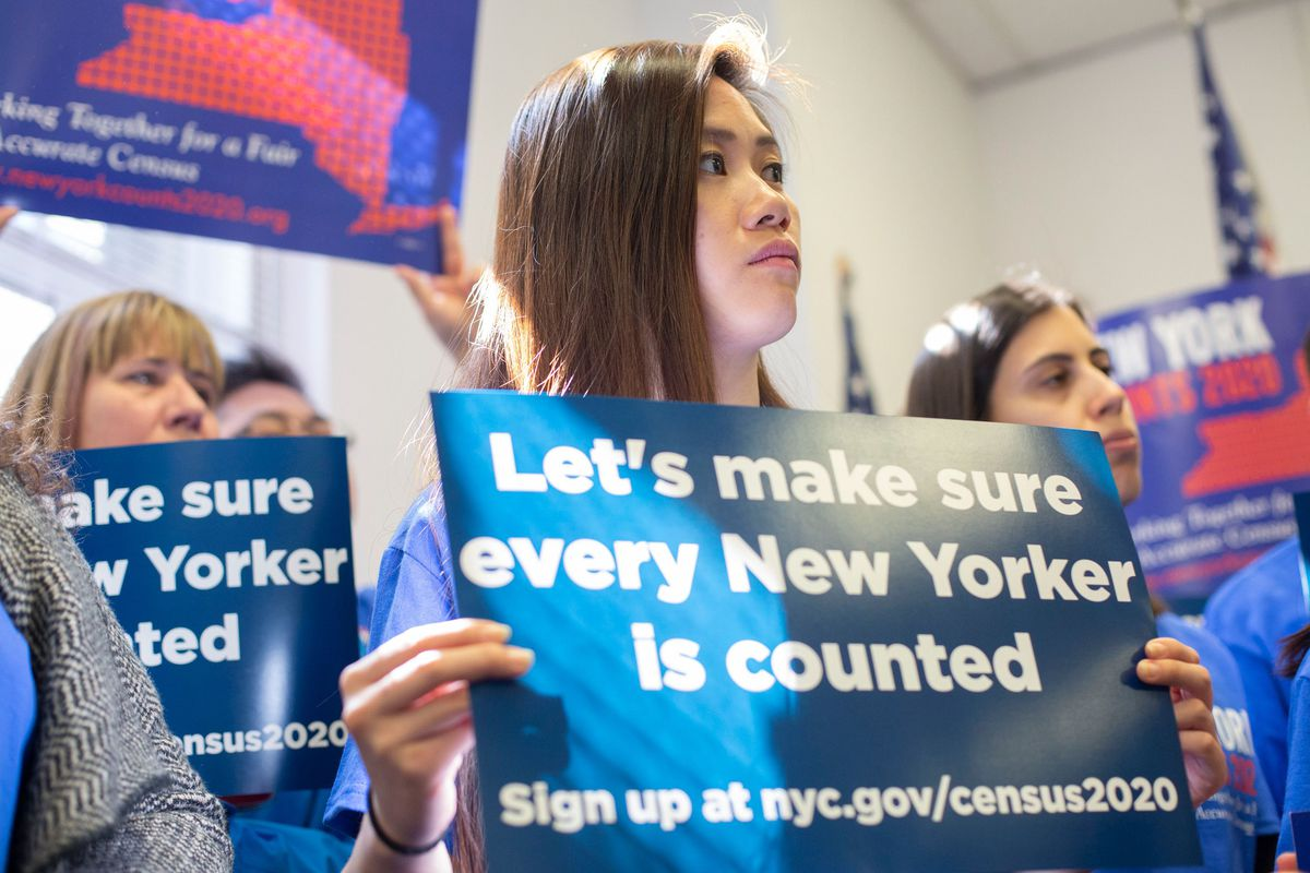 2020 Census rally