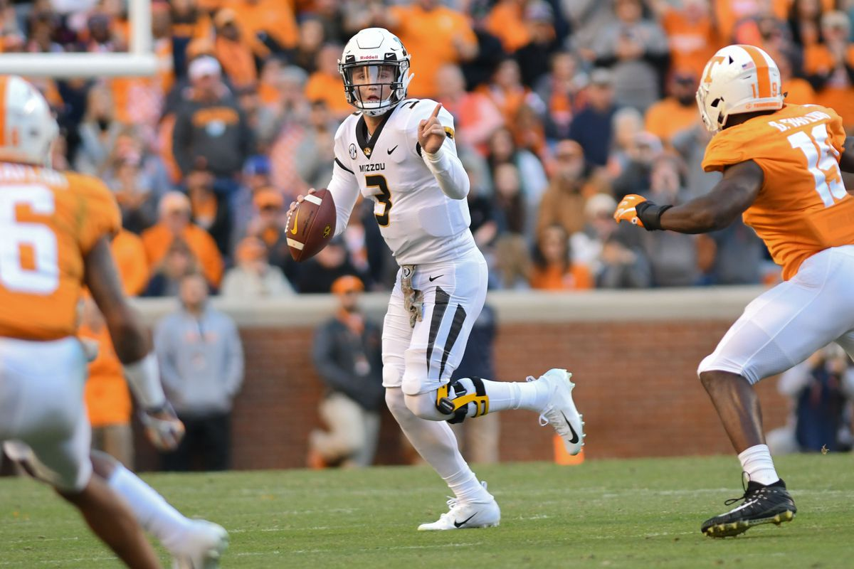 30a6c3cdeb1 Franchise guy or Jay Cutler 2.0  The Missouri Tiger is no Lock for either.  Randy Sartin-USA TODAY Sports