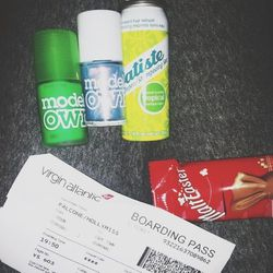 """There is a <b>Boots</b> pharmacy at the London-Heathrow airport where I am laying over, so I spend an hour looking for new products. I find <a href=""""http://batistehair.com/""""><b>Batiste</b></a> dry shampoo, which I see back home... but this one coconut sce"""