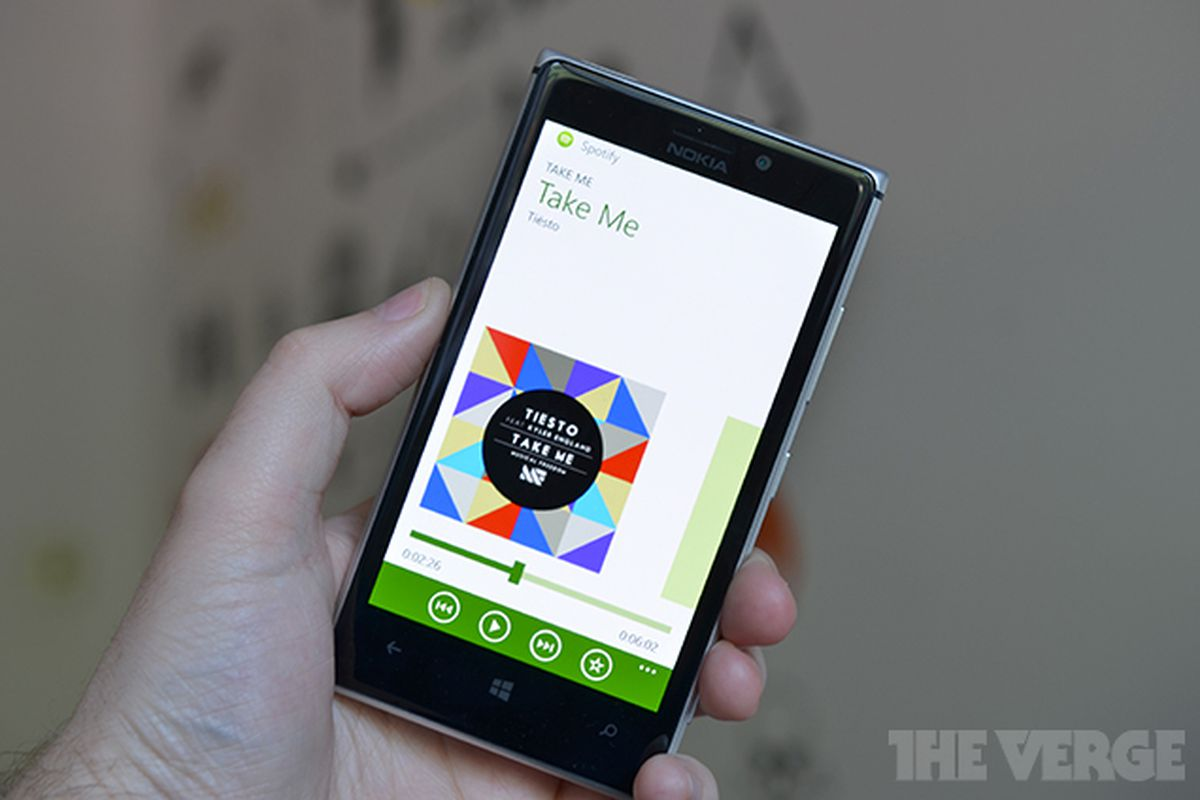 Spotify For Windows Phone 8 Updated Kills Beta Tag And Adds