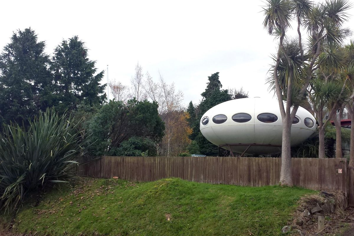 Wondrous Rare Ufo Shaped Futuro House Is On The Market For 290K Curbed Download Free Architecture Designs Xerocsunscenecom