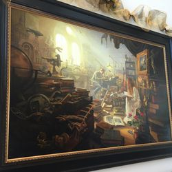 """Artist Greg Olsen's new painting, """"Treasures of Knowledge,"""" was commissioned by Leo and Annette Beus and donated to BYU."""
