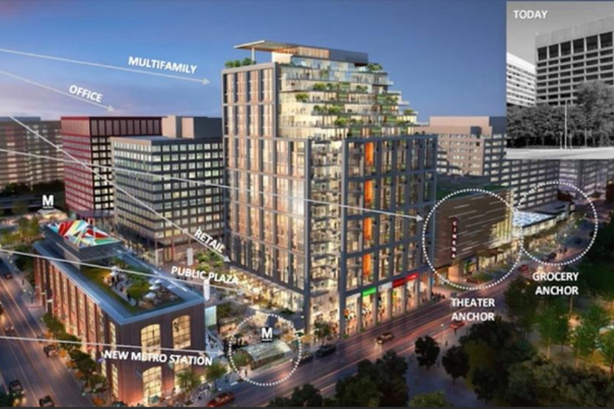 Crystal City developer plans 'North District' with Alamo ...