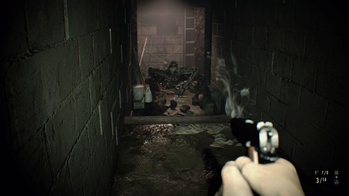 Resident Evil  Boiler Room Key
