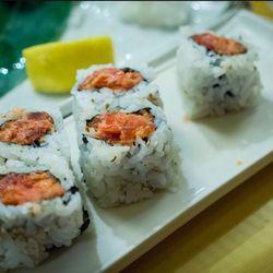 Spicy tuna rolls @ Sushi Go 55, downtown by KayOne73