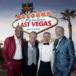 "Morgan Freeman, Michael Douglas, Robert De Niro and Kevin Kline in ""Last Vegas."""
