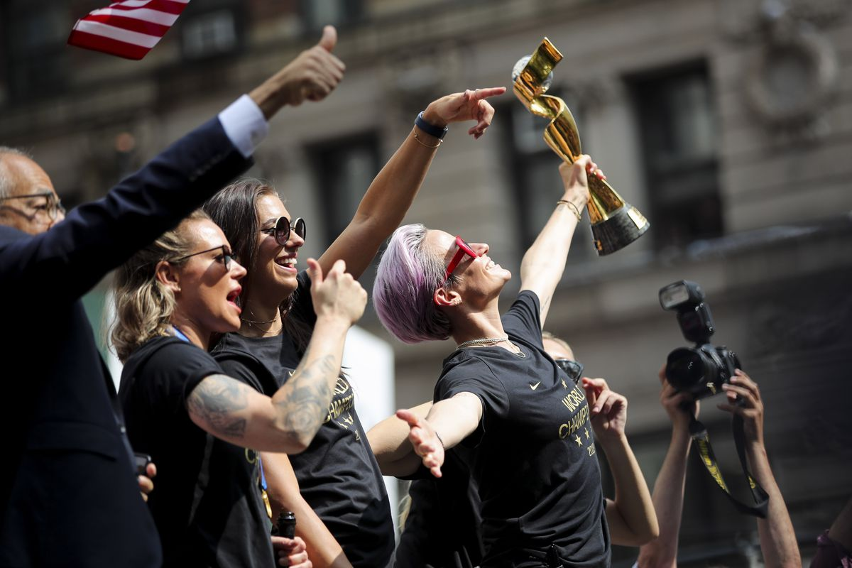 (SP)US-NEW YORK-SOCCER-WORLD CUP-PARADE