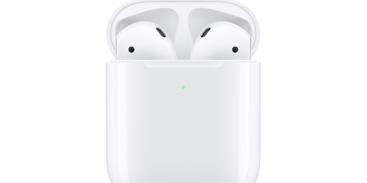 Apple S New Airpods Come With A Wireless Charging Case Hey Siri Support And More Battery Life The Verge