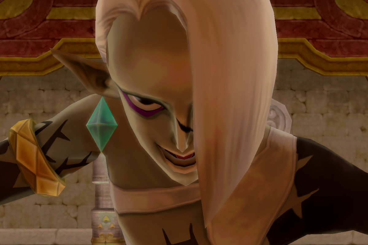 Demon Lord Ghirahim from The Legend of Zelda: Skyward Sword HD