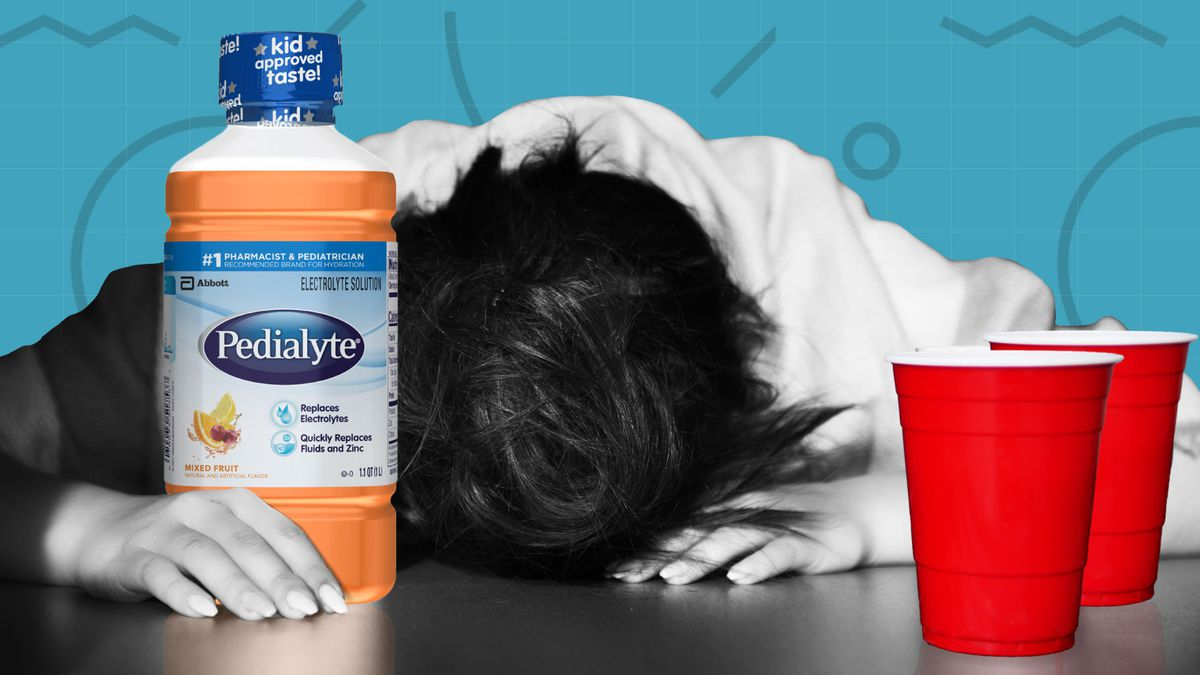 How Pedialyte Muscled Out Gatorade To Win The Adult Hangover