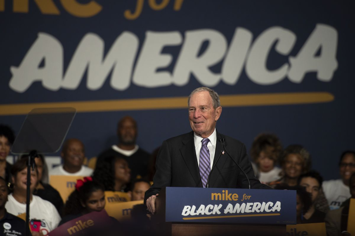 """Democratic Presidential Candidate Mike Bloomberg Launches """"Mike For Black America"""" Campaign Initiative"""