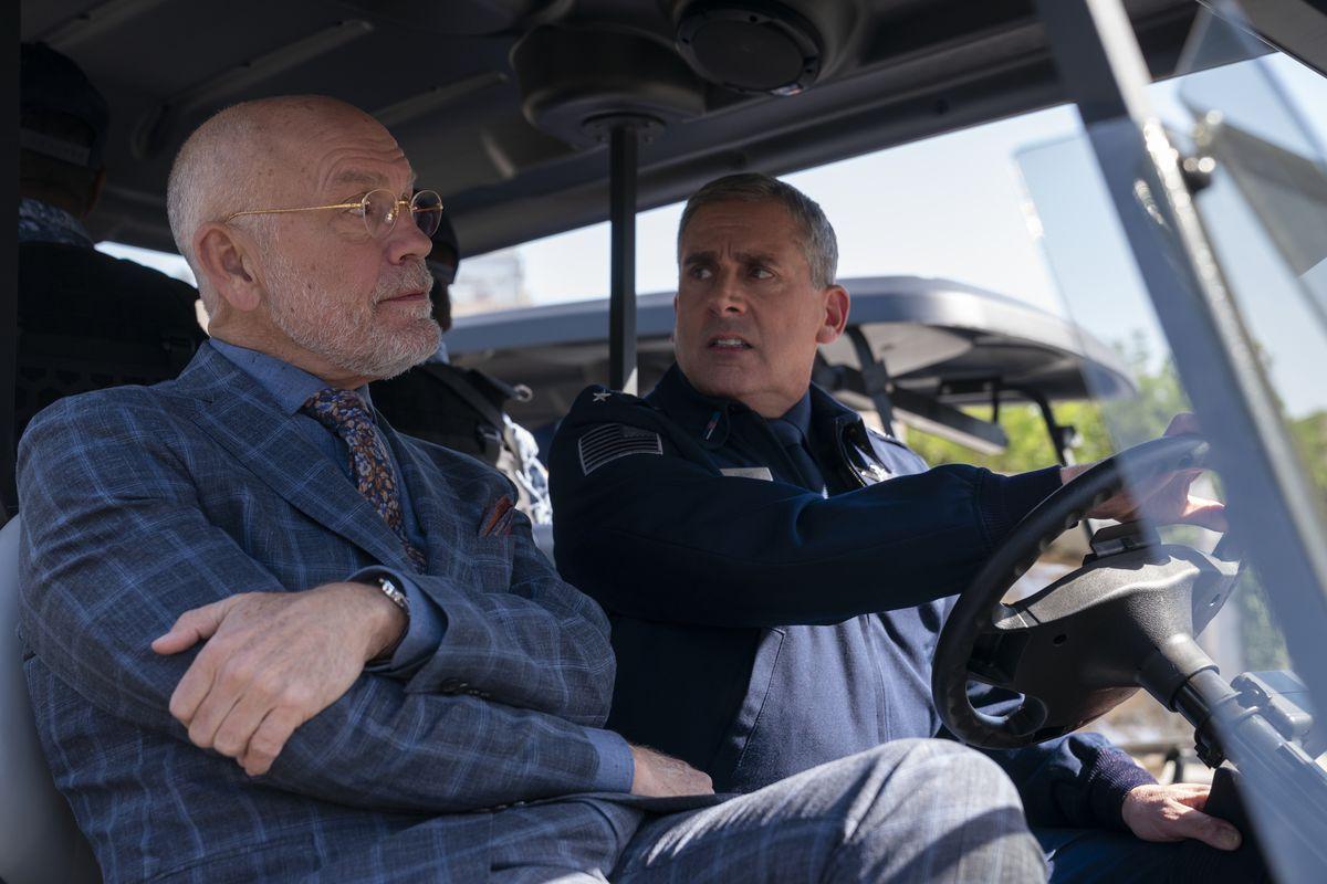steve carell driving john malkovich