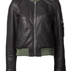 """Reversible T by Alexander Wang jacket, $1,150 at <a href=""""https://www.knitwitonline.com/"""">Knit Wit</a>"""