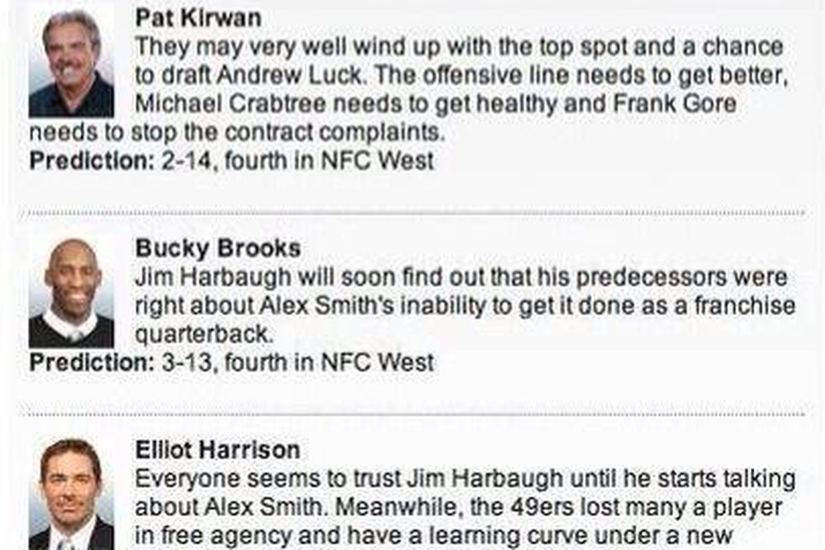 2013 NFL predictions: Crappy predictions are always amusing