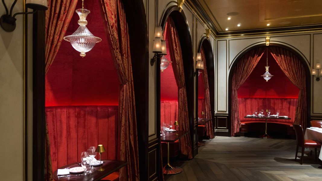 Your First Look Inside The Canoodling Banquets In The Red