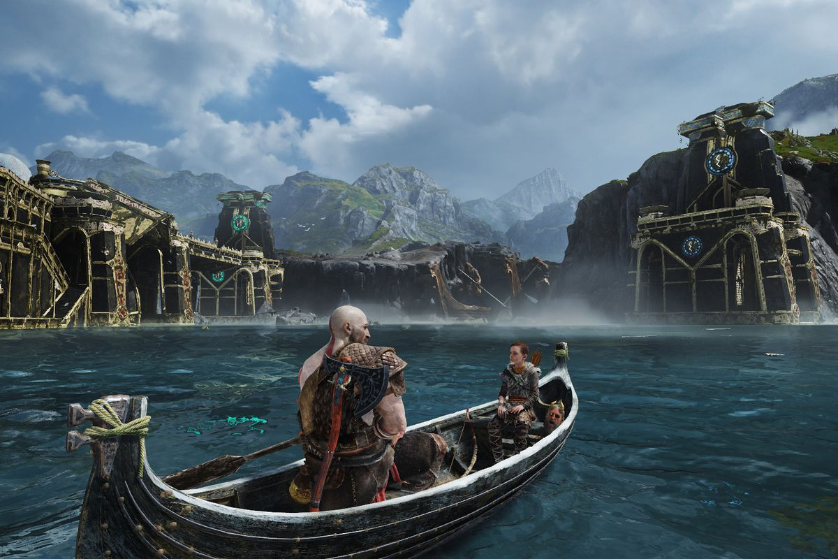 God of War review - slower, calmer, better, dadder