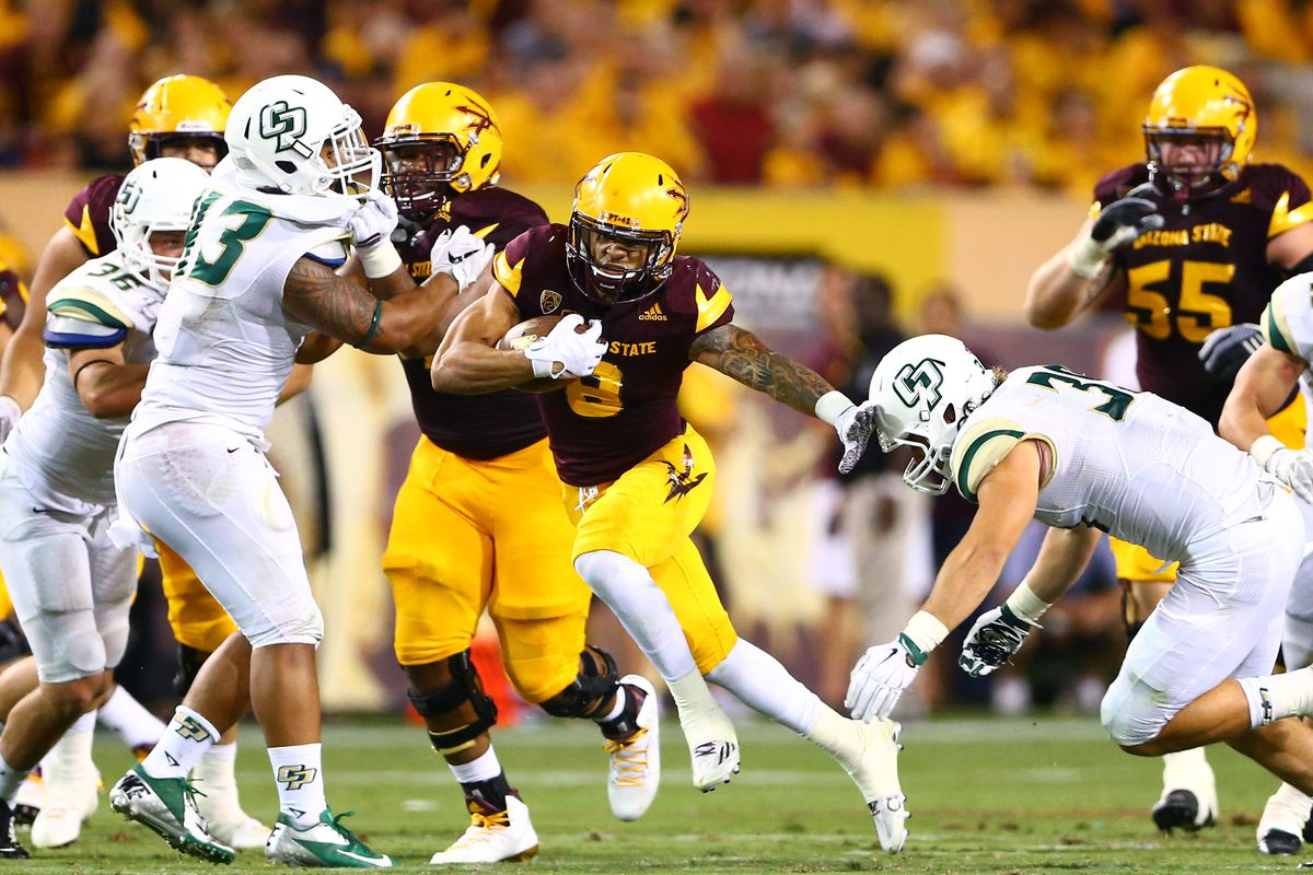 Whether he's lining up at receiver or running back, DJ Foster is a big time playmaker for the Sun Devils