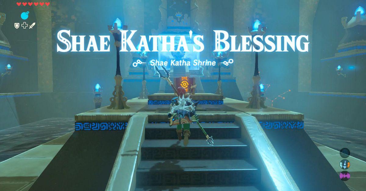 Zelda Breath of the Wild guide: Shae Katha shrine walkthrough and