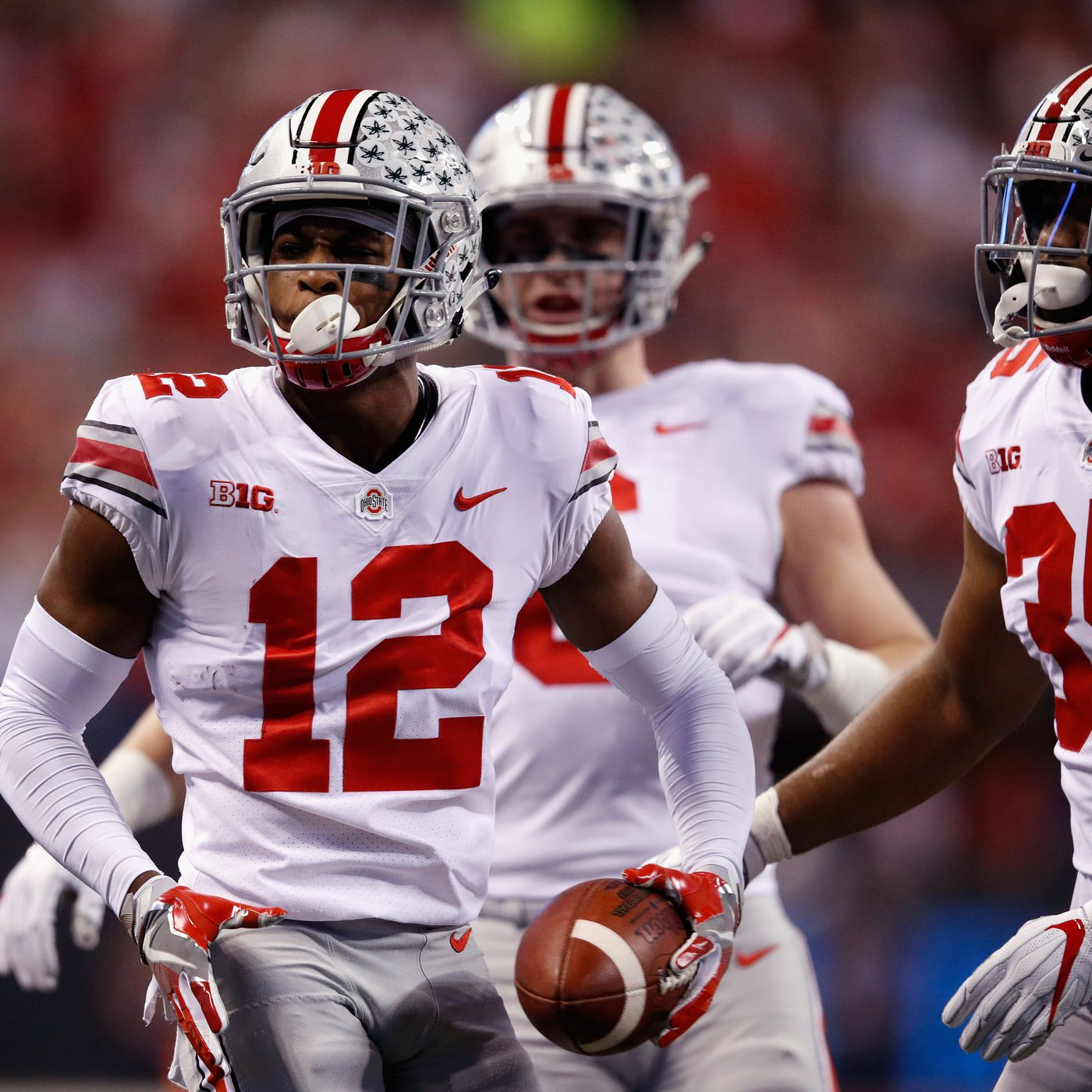 4 pick Denzel Ward handled sitting out of his final college game in a very  professional manner - SBNation.com fabf6c7cf